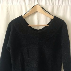 Sweaters - Off the shoulder light sweater